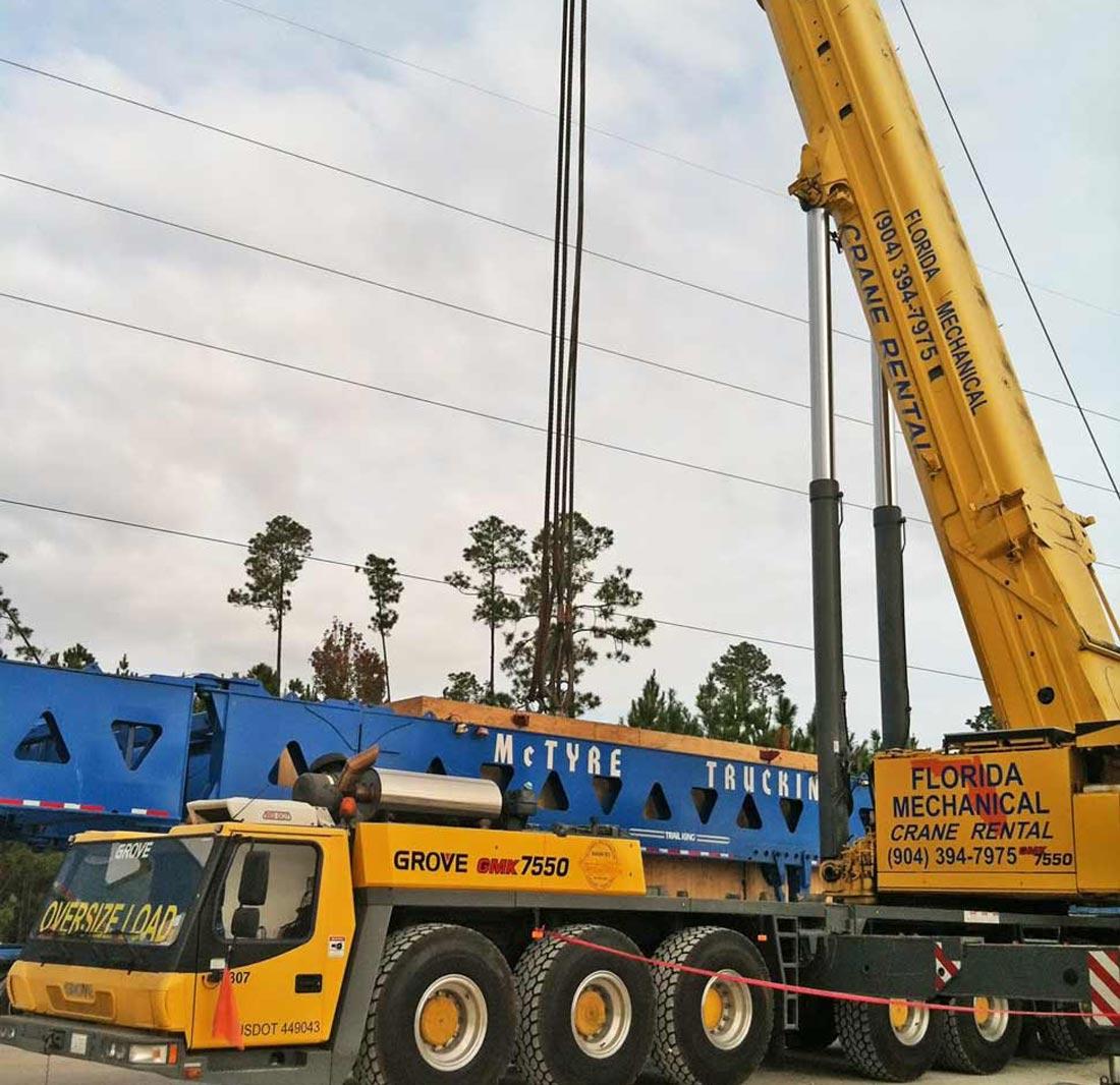 24 hour Crane Rental
